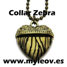 Collar Zebra en www.myleov.es #collar #myleov #zebra