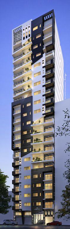 Residential Building on Behance