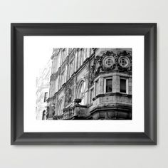 Architectural Elegance Framed Art Print by tracy-Me - $32.00
