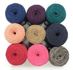 Ormo Nako Frizzy T-Shirt Yarn - Solids
