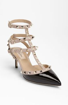 Valentino 'Rockstud' Pump available at Nordstrom....these may have just made their way into my closet