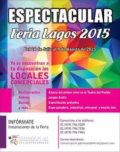 Feria Lagos de Moreno 2015 | FERIAS DE MÉXICO