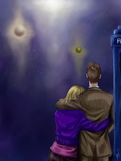 The Doctor and Rose, by Fishik