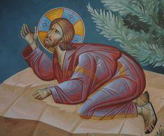 Prayer in the Garden More icons of Christ's Passion: http://whispersofanimmortalist.blogspot.com/2015/04/icons-of-christs-passion-1.html