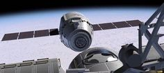 Solar Powered Dragon gets Wings for Station Soar