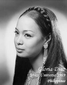 Gloria Diaz, Miss Universe, 1969, Philippines.