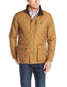 50% Off. U.S. Polo Assn. Men's Diamond Quilted Jacket, Tobacco Brown, Medium U.S. Polo Assn. http://www.amazon.com/dp/B00LIQOT3O/ref=cm_sw_r_pi_dp_tqSpub05FFEP7