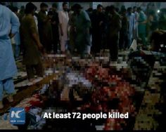 At least 72 people have been killed and over 200 others injured when a suicide blast hit a Sufi shrine in southern Pakistan on Thursday evening. Many of the victims are women and children. The so-called Islamic State (IS) group has claimed responsibility for the attack. Some of the images in the video might be disturbing.