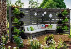 Creative Privacy Fence Design Ideas (52)
