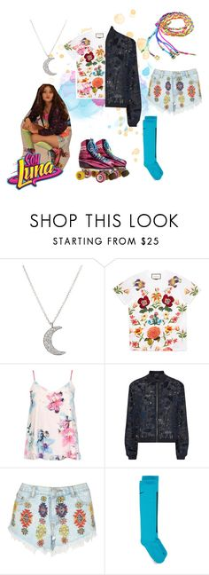 """""""soy luna"""" by maria-look on Polyvore featuring Finn, Gucci, Dorothy Perkins, Markus Lupfer, Lipsy and NIKE"""
