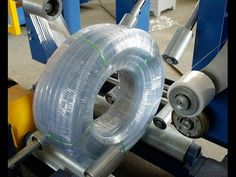 PVC pipe coil packaging machine