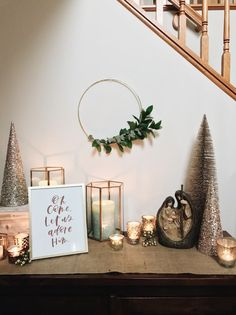 Holiday Home Decor on a Budget | Blessed is She
