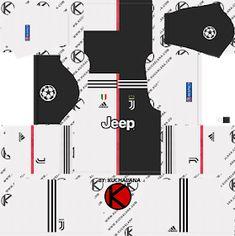 juventus-kits-ucl-2019-2020-dream-league-soccer-%2528home-v2%2529 Juventus Goalkeeper, Juventus Team, Goalkeeper Kits, Juventus Soccer, Juventus Logo, Kaizer Chiefs, Chiefs Logo, Football Team Kits, Soccer Kits