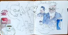 Singapore 2015 sketchbook - pp22-23 | by Asuka *