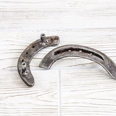 A totally unique way to add that rustic charm to your decor! These drawer pulls are hand made from used horse shoes reclaimed on our farm. They are coated with a protective finish to prevent rust. This listing is for 1 horse shoe drawer or cabinet pull. Add as many to your shopping