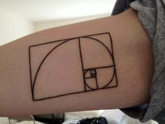 My first of tattoo (got it two days ago) of the Fibonacci Spiral on my inner bicep done by Ryan at Curious Tattoos in College Park, MD. Can't wait to get more!