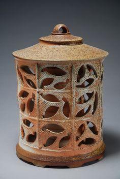 Bruce Cochrane - double walled funerary jar