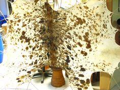 Dit is een bijzonder mooi koeievel uit Ivoorkust. We krijgen deze vellen in opgevouwen toestand binnen. We weken ze zelf weer om ze in een raam op te kunnen spannen. Daarna kunnen we de goede stukken voor trommels selecteren en uitsnijden - www.stiggelbout.nl Animal Print Rug, Home Decor, Drum, Decoration Home, Room Decor, Home Interior Design, Home Decoration, Interior Design