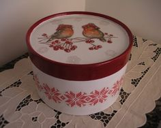 Decorative Boxes, Hobby, Home Decor, Flower, Paper, Hand Embroidery Designs, Painted Boxes, Picture On Wood, Christmas Boxes