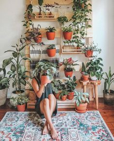 "Plant Chicas on Instagram: ""Future DIY project. #plantchicas"" Plant Wall, Plant Decor, Fall Photos, Tropical Plants, Home Projects, Planter Pots, Succulents, Table Settings, Inspiration"