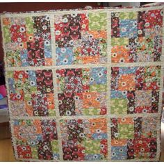 #patchwork keryns 50th birthday quilt