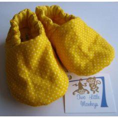 #ladybird2turtle #pinadaysep #yellow $15.00 Handmade Cotton Shoes on Handmade Australia
