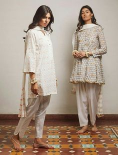 Ideas on how to wear white shalwar kameez for women. Pakistani Salwar Kameez Designs, Salwar Kameez Simple, Designer Salwar Kameez, Pakistani Kurta, Pakistani Couture, Salwar Designs, Simple Pakistani Dresses, Pakistani Fashion Casual, Pakistani Outfits