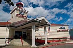 Anthony's Homeport Lighthouse, Everett Marina, Washington