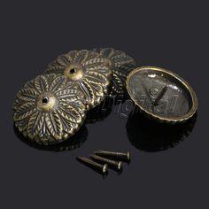 100 X UPHOLSTERY NAILS / STUDS / TACKS / PINS (Fourteen Finishes Available)  | Upholstery Nails, Nail Studs And Upholstery