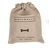 Organic Carrot Dog Biscuits in Bag