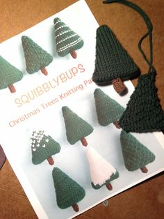 Squibbly Bups Christmas Trees pattern: http://www.ravelry.com/patterns/library/christmas-trees-15