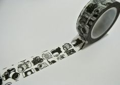 Vintage Camera Washi Tapes / Japanese Masking Tapes.