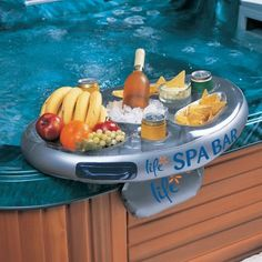 Hot Tub Bar Table Diy Home Outdoor Living