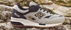 New Balance Grey 1600 Elite Sneaker New Balance, Footwear, News, Grey, Sneakers, Shoes, Collection, Fashion, Ash