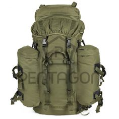 The Pentagon Commander Rucksack 100lt is a versatile and extremely popular backpack with the military. The Commander Rucksack is a 100 litre backpack with heavily padded shoulder straps for added comfort and equipped with a waterproof cover included to protect the back ack for any wet weather operations. The Commander Rucksack comes with two detachable sacks that can be combined into a day sack. The Pentagon Commander Rucksack 100lt is available in olive,greek camouflage and woodland…