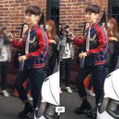 160413 arriving to the venue
