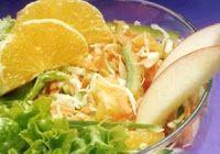 Cantinho Vegetariano: Salada de Repolho com Laranja (vegana)