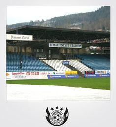 Marienlyst-Stadion | Drammen | Club: Strømsgodset IF | Zuschauer: 7.500 Four Square, Fan, Club, Places, Sports, Football Soccer, Hs Sports, Hand Fan, Sport