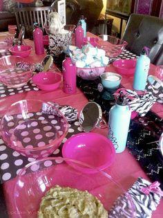 Cupcake Wishes & Birthday Dreams: {Party Recap} Monster High Spa Party @Cupcake Wishes & Birthday Dreams