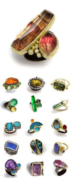 TheCarrotbox.com modern jewellery blog : obsessed with rings // feed your fingers!: Maria Frantzi