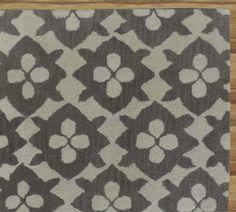 Diamond Basic Gray Handmade Persian Style Wool Area Rug Carpet