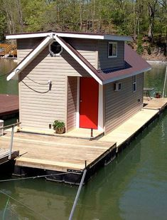 Tiny house, dock it anywhere. Small or free docking charge. Most Tiny houses can find cost ranging from 100.00 to 800.00 a month for leased land. Docks can be equal or more. Just need a tow. Don't have a boat, find a friend online.