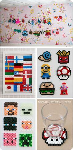 Hama bead ideas - by Craft  Creativity