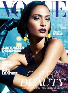 Joan Smalls; Vogue Australia, May 2012