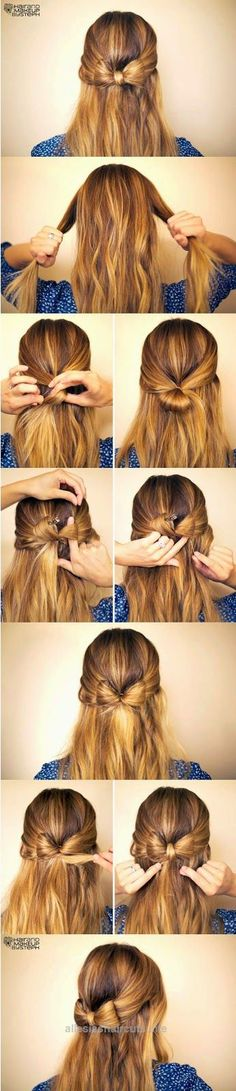 Awesome DIY Hair Tutorails – 5 simple but Cute and quick hairstyles idea.Learn Step-by-Step for the best lovely hair styles which can take as little as 5 to 15 minutes to create.  The post  DIY ..