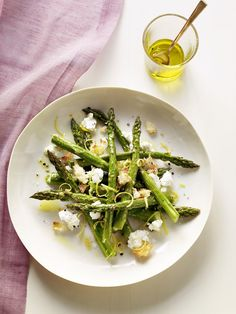 Most of us eat the subtly nutty-flavored asparagus spears steamed, and chefs and home cooks alike love to serve them with eggs.When you blast the stalks with high heat, their sharp flavor mellows, and they turn slightly sweet.