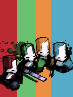 Castle Crashers... One of the best Arcade games on the Xbox... ever. For the zune. Made with Photoshop CS3