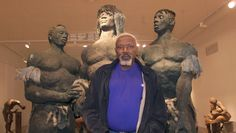 The Senegalese sculptor Ousmane Sow, one of the giants of African art, died Thursday in Dakar aged his family told AFP. Art Sculpture, Sculptures, Ousmane Sow, Senegal Travel, Xavier Veilhan, Beaux Arts Paris, Sailing Adventures, African Artists, Art Academy