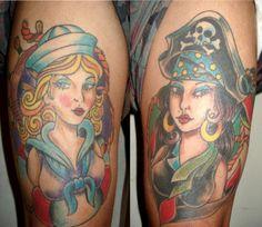 nautical girl tattoos