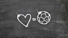 love equals football